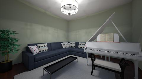 Piano Mist - Living room  - by Rabbit238