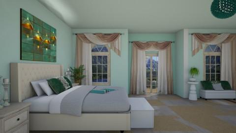 My bedroom - by Evihun