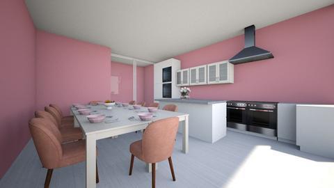 Kitchen_ Princess serie - Feminine - Kitchen  - by Agamanta