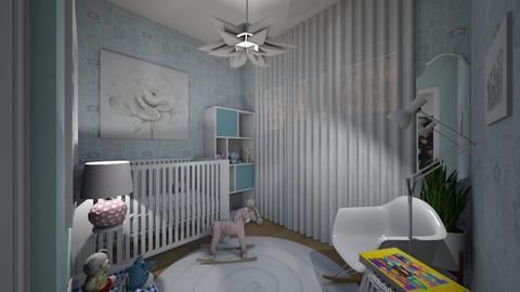 Flat 24 Nursery - Classic - Kids room  - by LuzMa HL