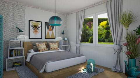 segmentA bedroom - Bedroom - by ewcia3666