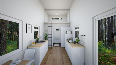 Kitchen_Minimalist Tiny - Minimal - Kitchen  - by fatihafitra