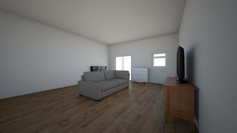 New house - Living room  - by roslynx