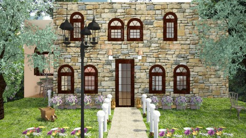 classic house - Classic - Garden  - by Angela Quintieri