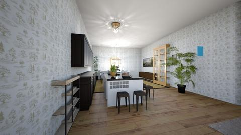 Modern Kitchen - Kitchen  - by Snowball Styler