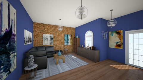 living - Rustic - Living room  - by Kim Hye Ri