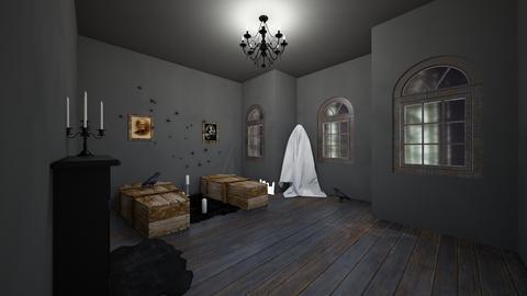 UnfinishedHauntedRmDreams - Rustic - Living room  - by jade1111