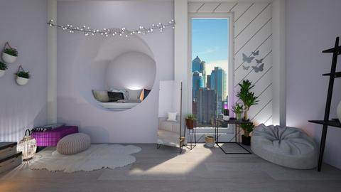 Girl in the city - Feminine - Bedroom  - by Dragonets of Destiny