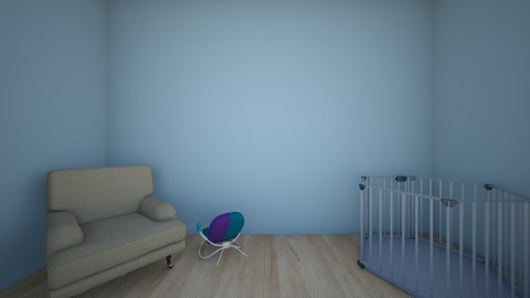 room baby mom2 - Kids room  - by Aleksandra Dziuba