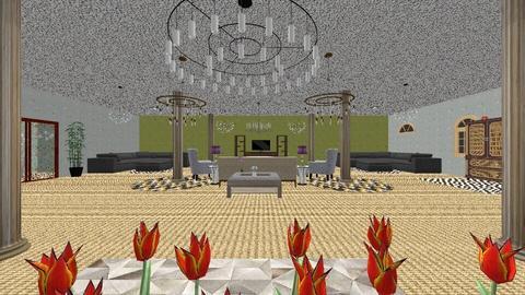 Pillar Room - Living room  - by Sonnet