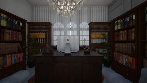escritorio - Rustic - Office  - by Keilla