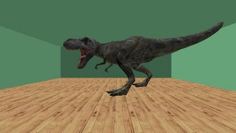 Dino - Modern - Kids room  - by midnightspotlight