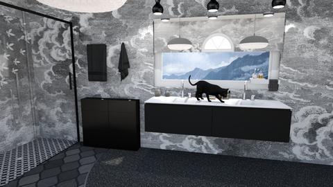 tuby  - Bathroom - by Mykala Hood