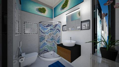 Guest Bathroom OTW - Modern - Bathroom  - by Amyz625