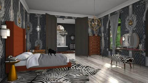 pembridge square - Eclectic - Bedroom  - by kitty