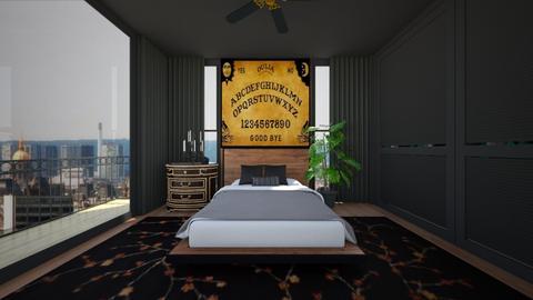 Unique Headboard - Bedroom  - by SammyJPili
