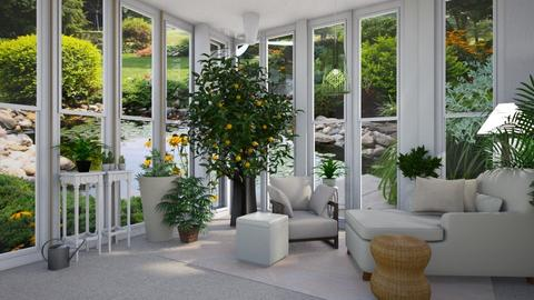 Country sunroom - Country - Garden - by Sue Bonstra