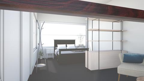Pent suite - Bedroom - by 9a Park Street