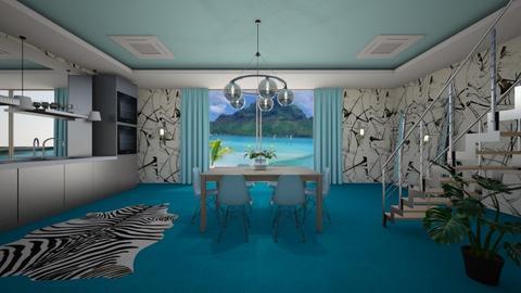 TCBdr - Modern - Dining room - by Saj Trinaest