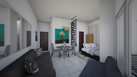 Condo Interiors_View - Modern - Living room - by danes