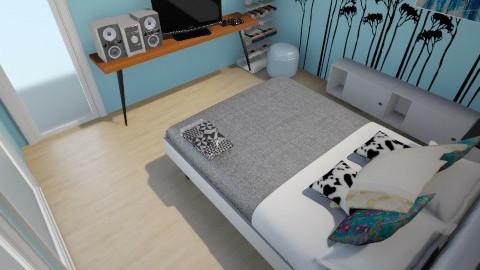 Ballaye - Minimal - Bedroom  - by aste44