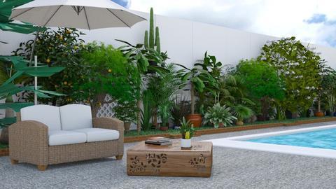 Majorca - Garden  - by creato