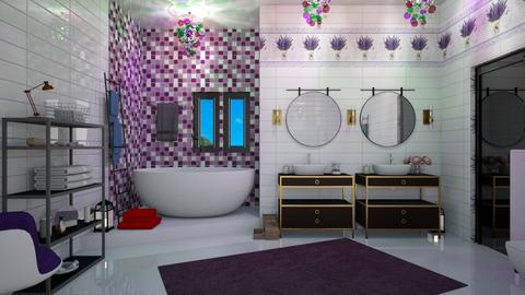 Lavender Bathroom - by matina1976