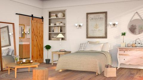 Contest_5 - Country - Bedroom  - by Sally Simpson