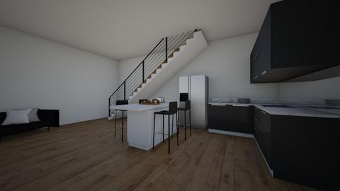 staircase - Kitchen  - by LB11