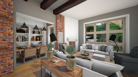 happy home - Living room  - by naki1