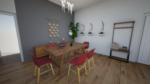 Acordes teoria de color - Minimal - Living room  - by stheploaiza92