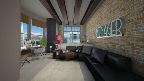 small apartment new york - Living room - by Joseph Espinoza