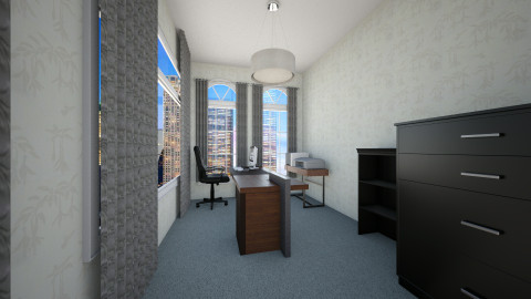 Savannah - Minimal - Office  - by DMK Skye