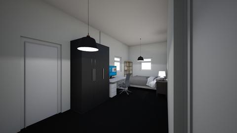 Liams Room - Bedroom - by MadSkiddies