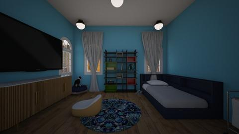 online - Modern - Bedroom  - by actionplane