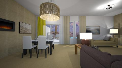 LA Compact - Dining room  - by mspence03