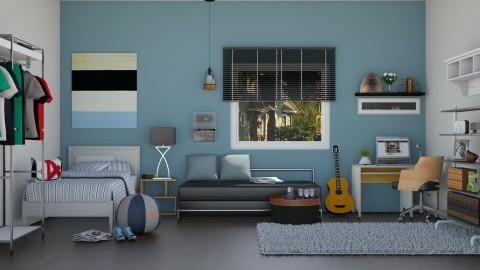 Boys will be Boys - Bedroom  - by ayudewi