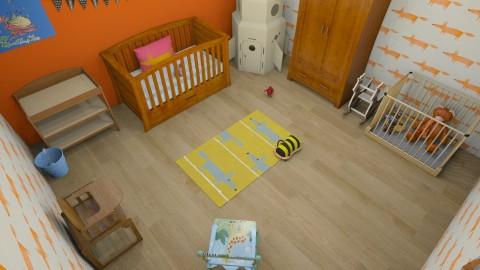 fox - Kids room  - by Alixandria Wolff