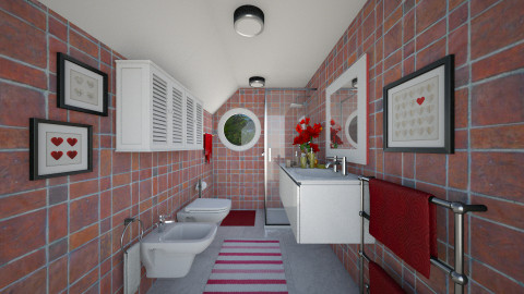 Small Bath II - Eclectic - Bathroom  - by Joao M Palla
