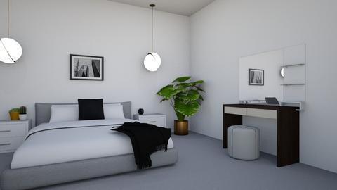 Green Guest Room  - Minimal - Bedroom  - by georgie_henry