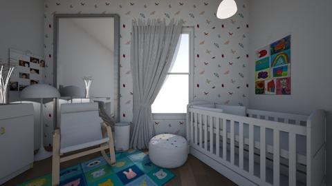 Surprise nursery - Bedroom  - by jrgerye707