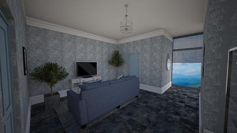 Light blue - Living room  - by way_wildness