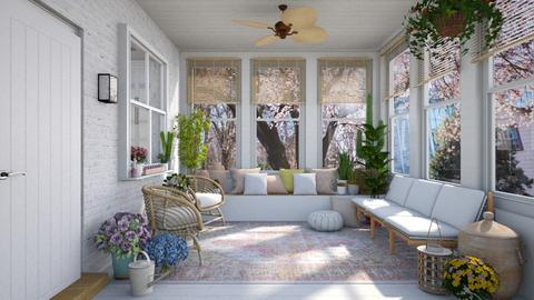 Spring Sunroom - by smunro7