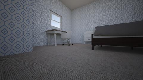 Ryanns First Room - Modern - Bedroom  - by ryann2007