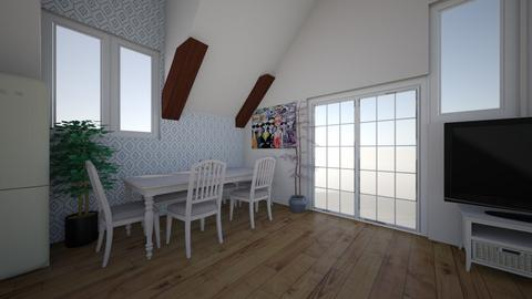 Project 3  - Dining room - by carmino