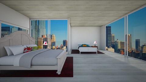 not ready nyc bedroom - Bedroom - by cb28026