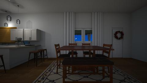 Bloomery House Night - Kitchen  - by mspence03