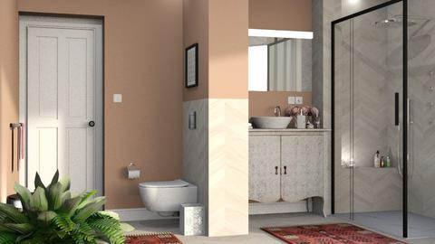 597 - Feminine - Bathroom  - by Claudia Correia