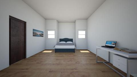 room - Modern - Bedroom  - by naomigb