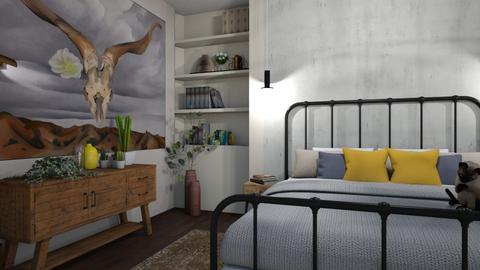 O Keffe bedroom - Bedroom - by dorota_k